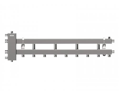 Балансировочный коллектор BMSS-100-5D (нерж., до 100 кВт, подкл. котла G 1¼″, 4+1 контура G 1″, инверсное подключение)